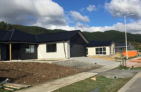 Building site in Upper Hutt almost complete