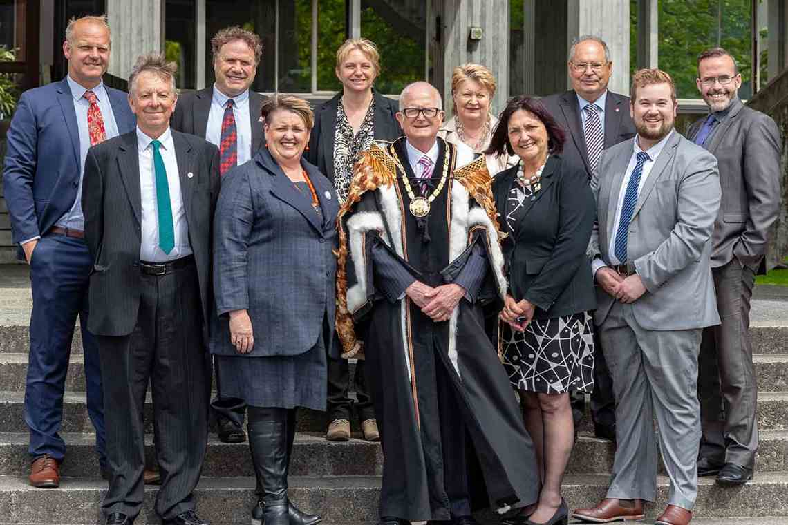 Upper Hutt City Council group photo 2019
